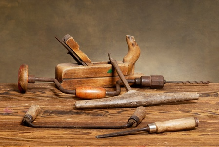 hand tools: old tools