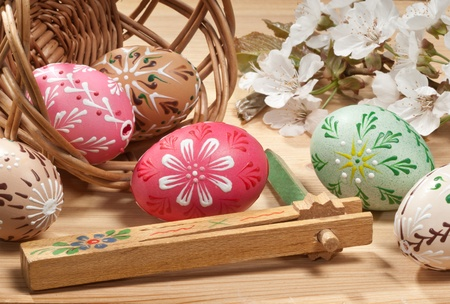 easter eggs Stock Photo - 16239950