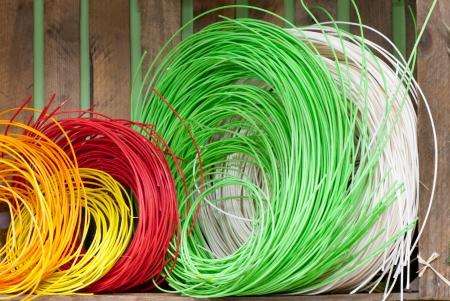 coloured string