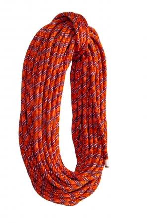 climbing rope Standard-Bild