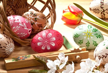 easter eggs Stock Photo - 16706335