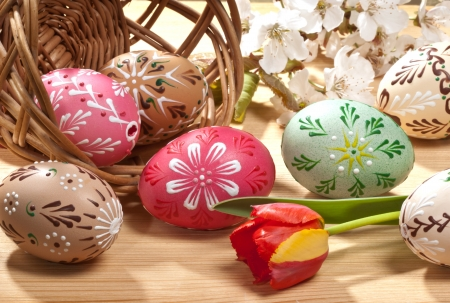 Easter eggs Stock Photo - 17567438
