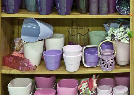 flower pots Stock Photo - 17965830