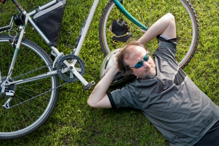 drowse: bicycle Stock Photo