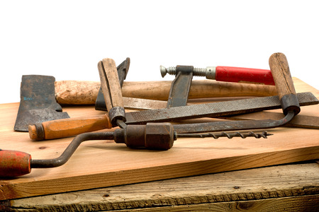 gimlet: old used tools