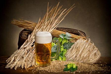humulus: beer glass