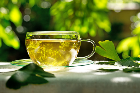 herbaceous  plant: tea with herbaceous plant