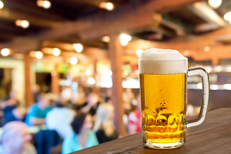 alehouse: a beer  Stock Photo