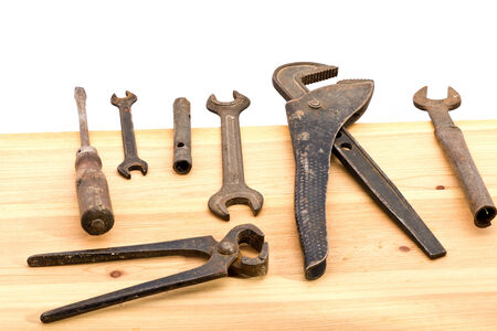 old used tools photo