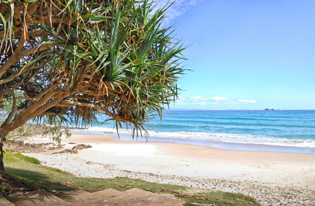 Watergoes Beach in Byron Bay in Australia