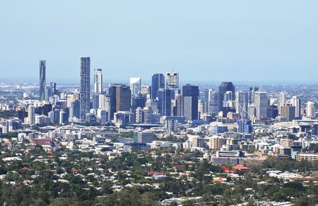 tha: Brisbane Lookout Mt Coot-tha Stock Photo