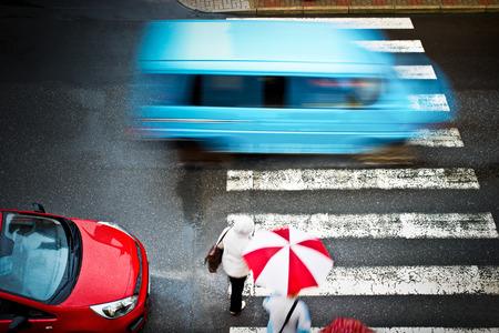 pedestrian crossing photo