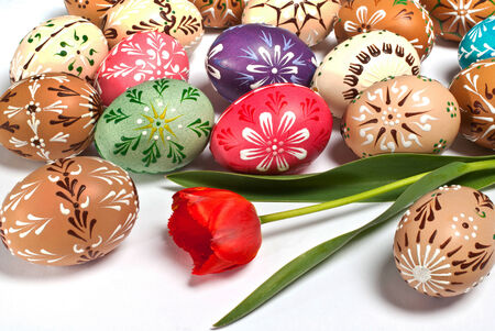 Painted Easter Eggs photo