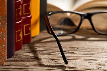 gafas de lectura: libros y gafas para leer