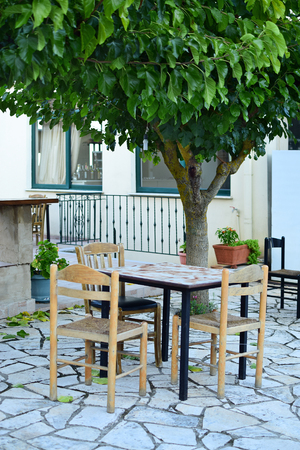 outdoor living: Outdoor living in Zakynthos island, Greece