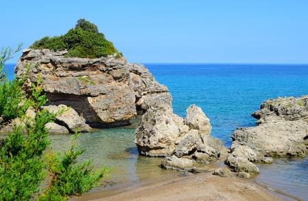 zakynthos: Porto Zorro, Seashore in Zakynthos island, Greece