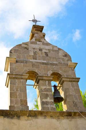 belfry: Belfry of Panag�a Skopi�tissa Church in Zakynthos island, Greece