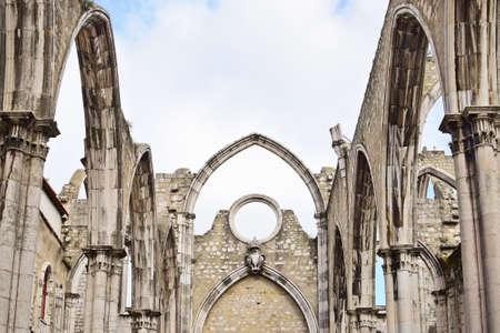 carmo: Igreja do Carmo in Lisbon in  Portugal, EU
