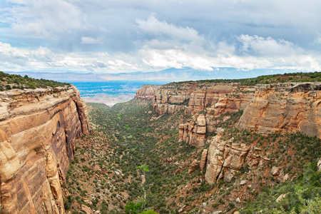 mudstone: Landscape in Colorado National Monument  in USA