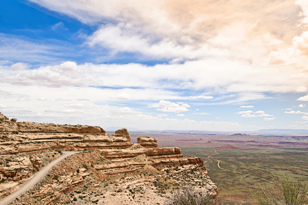 gods: Valley of the Gods in Utah, USA Stock Photo