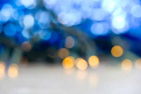 Fondo de Navidad con luces y brillo Foto de archivo
