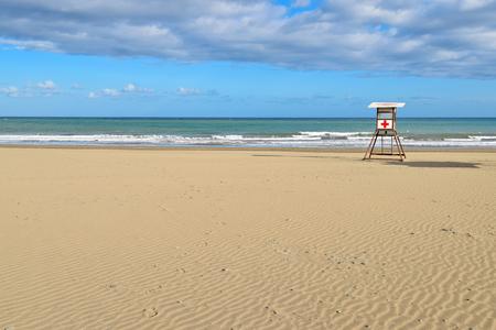 Playa de San Augustin Beach in Gran Canaria Stock fotó - 81030687