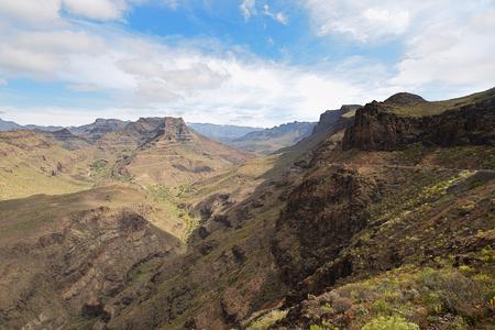 Mirador Degollada de Las Yeguas. Gran Canaria. Spain.