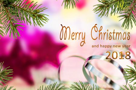 Frohe Weihnachten Und Ein Gutes Neues Jahr Tschechisch.Weihnachtshintergrund Mit Dem Schreiben Von Frohen