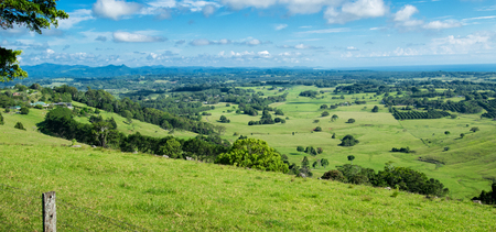 Byron Shire landscape in the summer. In Australia. Reklamní fotografie