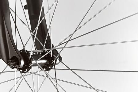 Detail of bicycle. Taken under studio light. Banque d'images