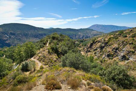 Alpujarra in Andalucía in Spain. Imagens