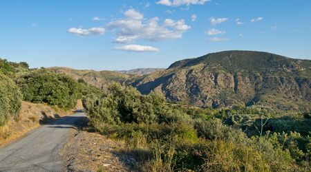 Hiking in Alpujarra in Spain