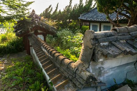 Abandoned temple in Jeonju, South Korea