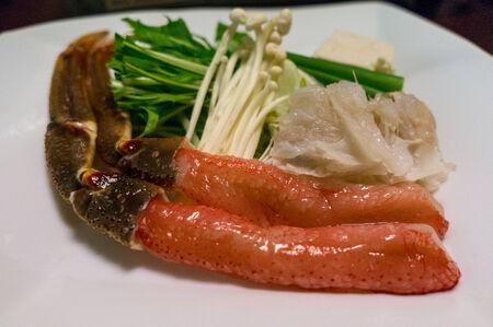 meant: Polpa di granchio in stile giapponese preso in un restaraunt a Sapporo, Giappone
