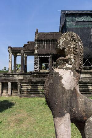 siem reap: Ankor Wat temple and ruins in Siem Reap.