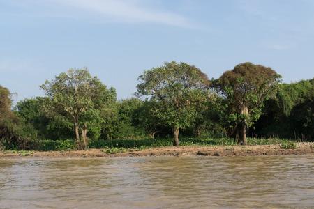 siem reap: Tonle Sap lake scenery near Siem Reap.