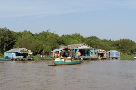 tonle sap: Tonle Sap lake scenery near Siem Reap.