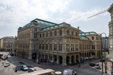 vienna national opera house taken from behind. Taken on August 29th 2019.