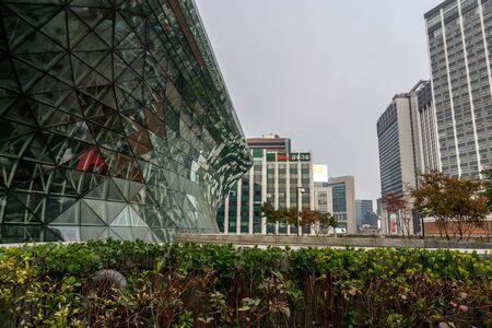 seoul city hall architecture scenery