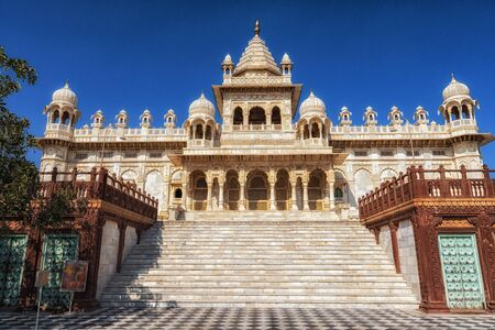 jaswant thada is a cenotaph located in Jodhpur and serves as the creamation ground for the royal family of marwar. Jodhpur, India