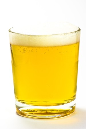beer on a glass Stock Photo - 4868882