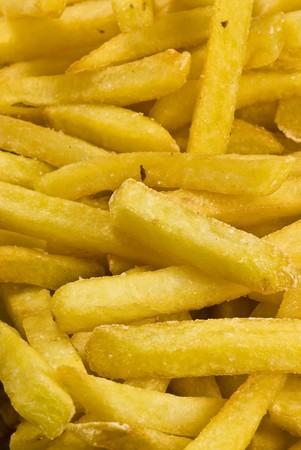 french fries closeup photo