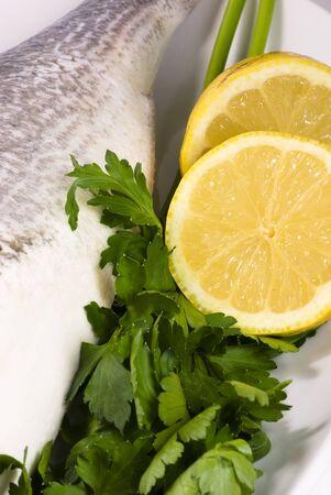 gilthead: gilthead with parsley and lemon