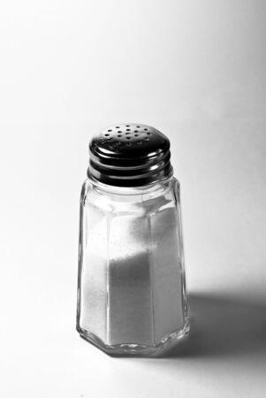 salt crystal: salt shaker