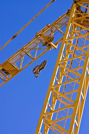 yellow crane Stock Photo - 4883786