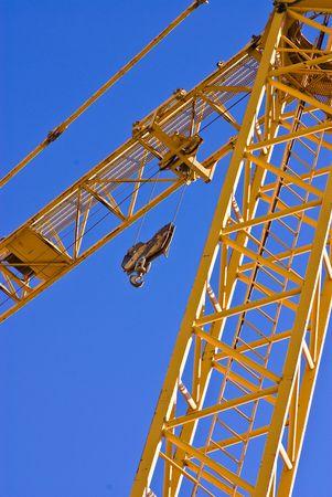 yellow crane Stock Photo - 4883786