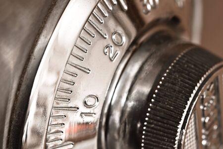 safe lock closeup photo