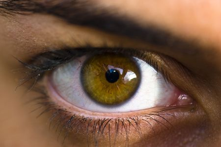 dilate: girl eye closeup