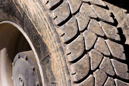 tire closeup photo