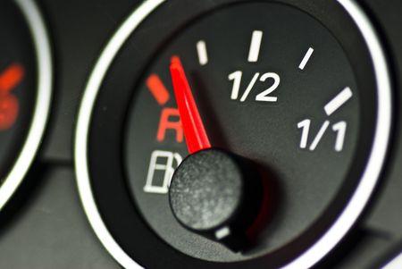 metering: gauge closeup